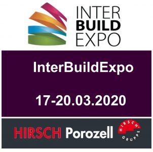2021 К открытию нового строительного сезона HIRSCH Porozell приглашает на выставку Inter Build Expo